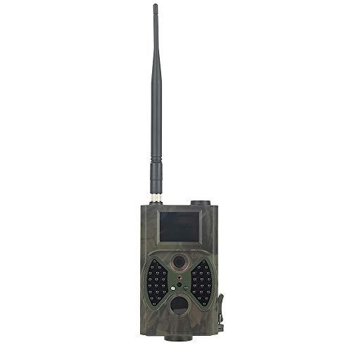ZYG.GG Hinteres Spielkamera, 1080P 12MP Wildlife-Kamera HD-Nachtsicht mit 36 schwarzen LEDs, wasserdicht IP54 für Wildlife Monitoring und Home Security Natur im Freien