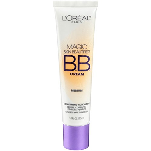 L'Oreal Paris Magic Skin Beautifier BB Cream, Medium, 1.0 Ounces by L'Oreal Paris