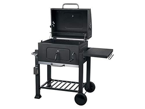 Tepro - Barbecue a Carbone Toronto Click con Carrello, per Barbecue, terrazza, Giardino, Antracite