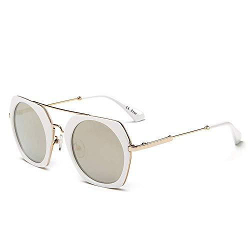 Sonnenbrille Polarisierte Sonnenbrille Damen 'S Brille Runder Rahmen Großes Gesicht Runde Brille Sonnenbrille