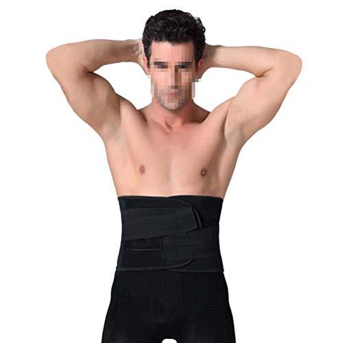 Healifty Taillentrimmergürtel Herren Taille Trimmer Gürtel Gewichtsverlust Gürtel Abnehmen Gürtel dünner Bund Größe XL (schwarz)