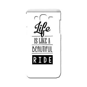BLUEDIO Designer 3D Printed Back case cover for Samsung Galaxy A7 - G0407