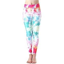 Mieuid Mujer Pantalones De Entrenamiento para Chic Friends Jogging Leggings Estampados De Yoga Estiramiento Delgado Pantalones Deportivos Pantalones Deportivos (Color : 37, Size : L)