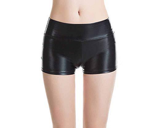 Damen Metallic Shorts Cosplay Halloween Party Kostüm Shorts