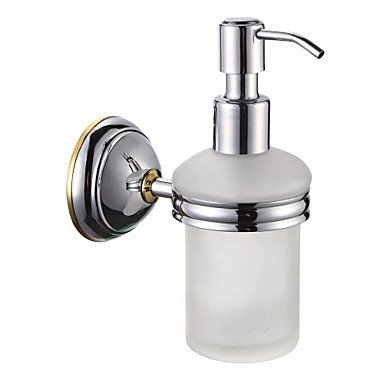 PIGE Bathroom Accessories Solid Brass Soap Dispenser