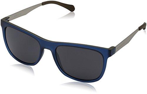 BOSS Hugo Herren 0869/S Sonnenbrille, Blau (Dkbluee Mtrut/Grey Blue), 55