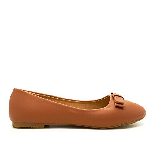 London Footwear - Ballet donna Camel
