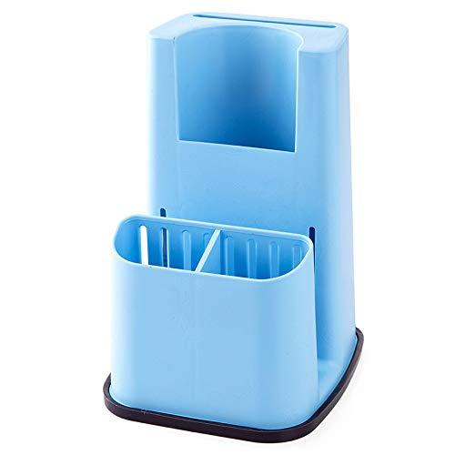 GWLYHZ Küchenschwammhalter Waschmittel Box Waschbecken Selbstentleerend Rack Dish Holder Lagerregal Bad Organizer Steht Seifenhalter Bad Dish