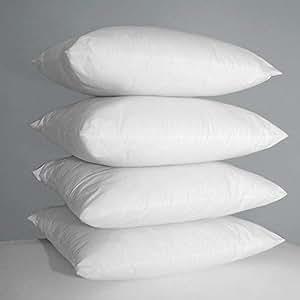 Luxuriöse Kissen,mit guter Stützkraft, mit Hohlfasern gefüllt, 4 Stück