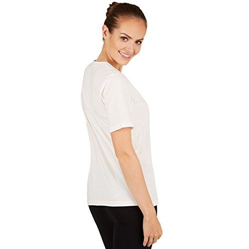 TecTake T-Shirt Pour Femme/Qualité Coton Lisse et Agréable/diverses Couleurs et Tailles XL   Blanc   No. 301258