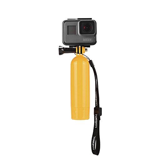 Luxebell® Impugnatura fluttuante galleggiante maniglia supporto Galleggiante + vite + cinturino da polso per GoPro Hero 4 Hero 3+ Hero 3 Hero 2 Camera SJ4000 SJ5000