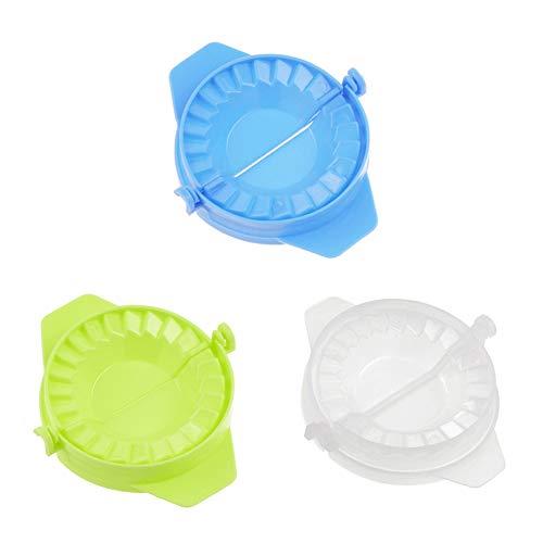 Verwenden Ravioli Maker (Hemore Gnocchi Knödel Mould Plastic Packaging Tool einen kreativen Kuchen Ravioli Dumpling Maker 3pcs testen Küchenwerkzeuge und Zubehör)