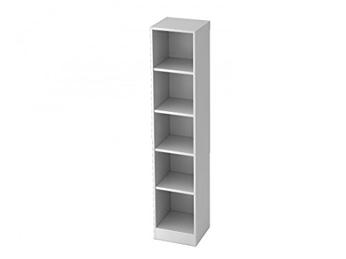 Aktenregal DR-Büro Serie V6-5 Ordnerhöhen - Regal erweiterbar - Maße 40,6 x 40 x 200,4 cm - 5...