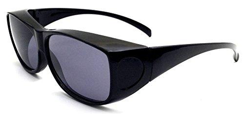Überzieh-Sonnenbrille Unisex UV380 für Brillenträger Fit-Over Überbrille