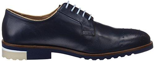 Martinelli Dario 1351-0358pym Scarpe Stringate Derby Uomo Blu marino