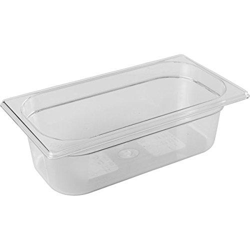 PUJADAS GN-Behälter1/3 Polycarbonat, Tiefe: 100 mm, Inhalt: 3,50 Liter