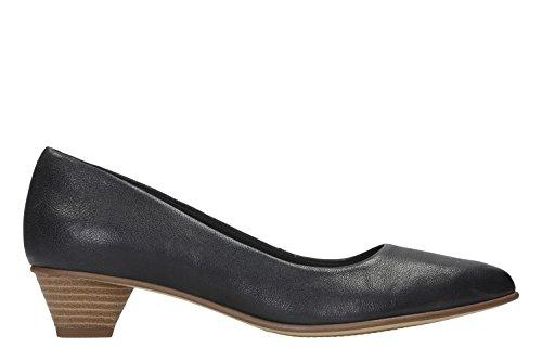 Clarks MENA Blüte Womens Gericht Schuh 8 D (M) UK/ 42 EU Schwarz -