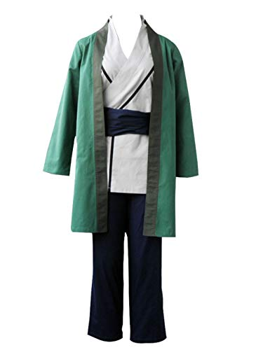 Kostüm Tsunade Cosplay - Mtxc Damen Naruto Cosplay Kostüm Senju Tsunade 1. - grün - Mehr-X-Large