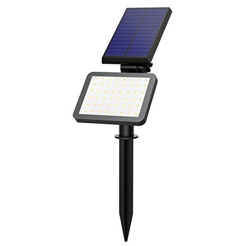 Lampada Solare OMorc Esterna Impermeabile Illuminazione Giardino Luci Solari IP65 con 48 LED per Giardino, Sentiero, Prato, Casa, Cortile, ecc