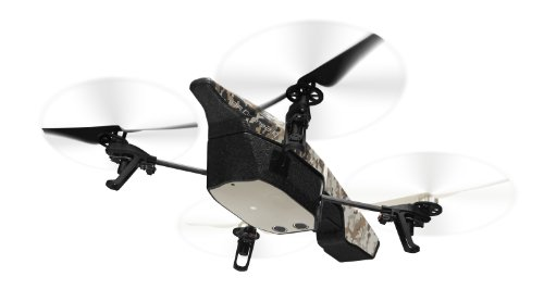 Parrot AR Drone 2.0 GPS Edition Quadrocopter (geeignet für Android/Apple Smartphones/Tablets) sand - 8