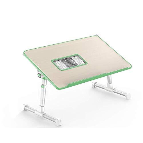 YS-FeiTeng Klapptisch - fauler Schreibtisch, kleine verstellbare Höhe und niedrige Winkelhöhe - Kleiner Klapptisch Verstellbar