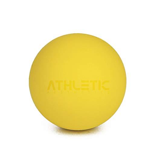 ATHLETIC AESTHETICS Lacrosse-Ball [6cm Durchmesser] - Als Massage-Ball und Faszien-Ball zur Selbstmassage und zur Triggerpunkttherapie (genaue Behandlung von Verspannungen) geeignet