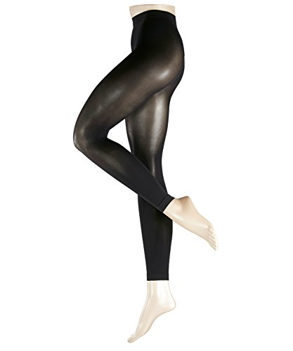 ESPRIT Damen Leggings 50 DEN, Baumwollmischung, 1 Stück, Schwarz (Black 3000), Größe: 42-44