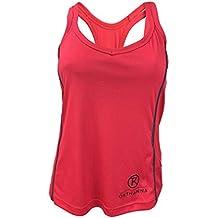 OKTHANNA Camiseta De Mujer Sin Mangas con Tirantes Blanca O Roja Practica Todo Tipo De Deportes