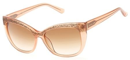 Guess by Marciano - BELLA GM0730, Schmetterling, Acetat, Damenbrillen, TRANSPARENT PEACH...