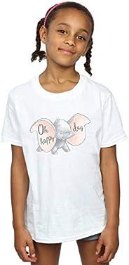 Disney Niñas Dumbo Happy Day Camiseta