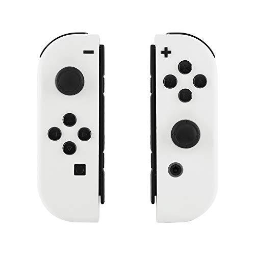 eXtremeRate Cover Impugnatura Custodia JoyCon Controller con Pulsanti Tasti  Kit di Ricambio Soft Grip per Nintendo Switch Joy-Con Non Incluso Guscio