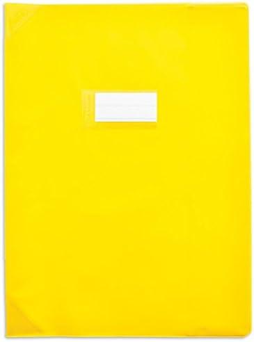 ELBA Lot de 3 Protège-cahiers Protège-cahiers Protège-cahiers PVC 150 Strong Line 24x32 cm opaque Jaune | Matière Choisie  cc9e6d