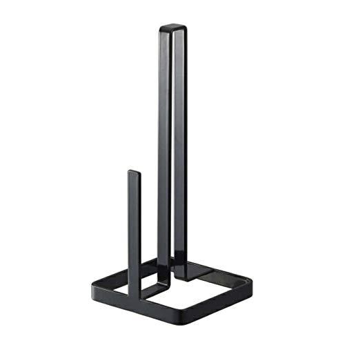 Handtuchstange Home Supplies Praktisches, stabiles Metalleisen, vertikal, Tischserviettenregal, Küchenzubehör, langlebiger Papierrollenständer, Retro-Design Free Size Schwarz -