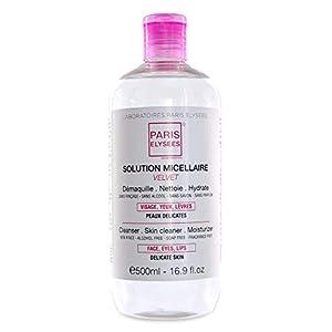 Agua micelar desmaquillante 3 en 1 Desmaquilla – Limpia – Tonifica 500ml para las pieles sensibles