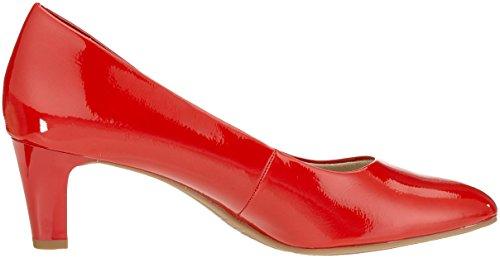Tamaris Damen 22493 Pumps Rot (Chili Patent 520)