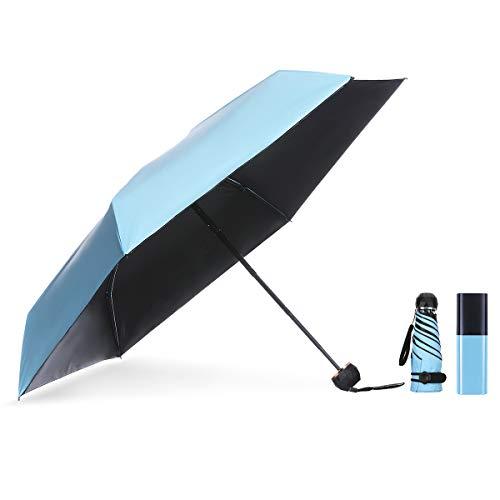 NASUM Mini Paraguas, Paraguas Bolsillo Plegable, Paraguas