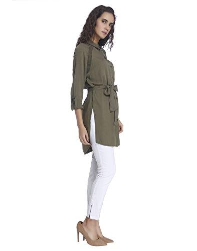 Vero Moda, Camicia Donna Verde (Ivy Green)