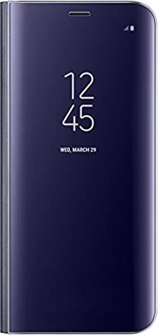 Samsung Clear View Standing Case for Galaxy S8 - Violet