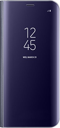 Samsung S8 Clear View Standing Cover - Funda para Samsung Galaxy S8, color violeta