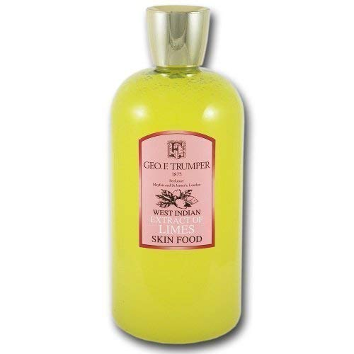 Geo F Trumper Limes Skin Food und Post Shave Gel 500 ML - Lime Shaving Gel