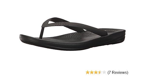 2ca6bdeafc27 Fitflop Men s iQushion Ergonomic Flip-flops Open Toe Sandals  Amazon.co.uk   Shoes   Bags