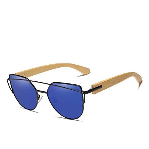 ZHOUYF Gafas de Sol Gafas De Sol De Madera Hechas A Mano para Hombres