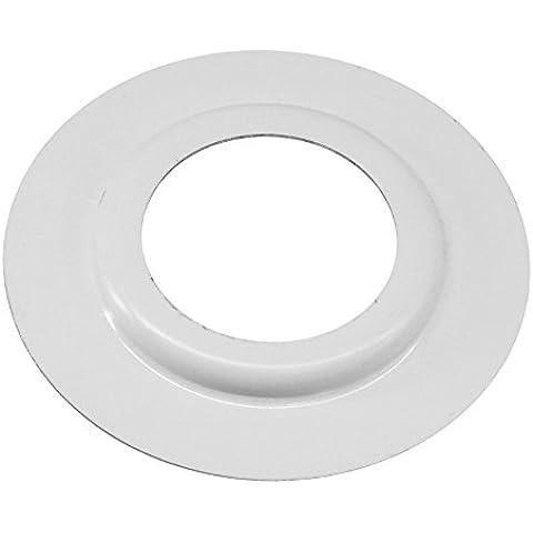 MiniSun - Confezione di 2 anelli di riduzione, in metallo, colore bianco DESIGN 1