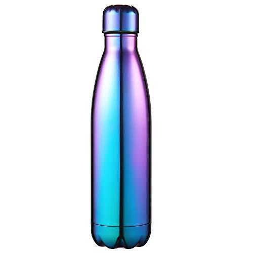 Anjoo Botella de Agua 500 ML, Deportes al Aire Libre Botella Agua...
