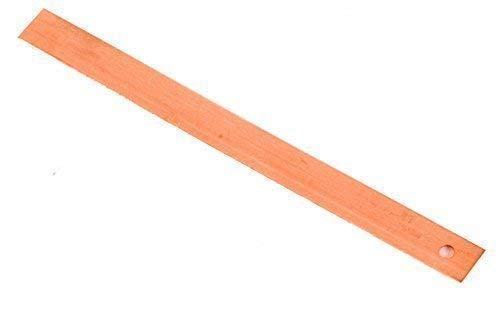 0.7 x 150mm Kupfer Tingles Bedachung Schiefer Riemen Dach Reparatur Stein Streifen Verkauft in Packung - Pack of 10
