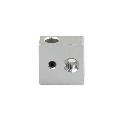 PRENKIN 5pcs Aluminio Calentador Bloque Calentamiento