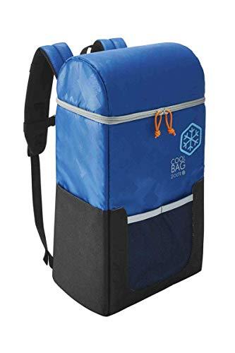 Kühlrucksack 20 Liter Immer kalte Getränke & frische Spreisen dabei Blau