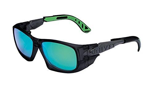Univet 5X9 Sport Extreme Schutzbrille Sonnenbrille - Grün verspiegelt - X Generation