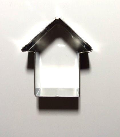 Keksausstecher Ausstechform für Kekse Hundekekse Haus 5,5 x 5,5cm