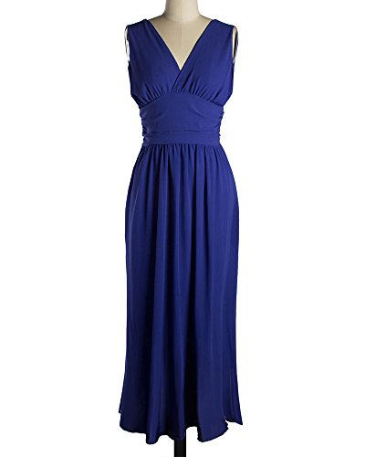 Vestiti Estivi Donna Vestiti da Sera Eleganti Vestito da Sera Lungo Abiti da Cocktail Blu